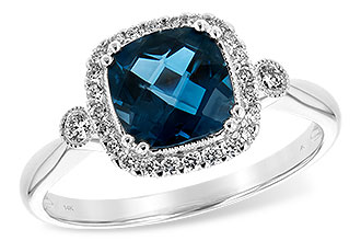 F198-37844: LDS RG 1.62 LONDON BLUE TOPAZ 1.78 TGW